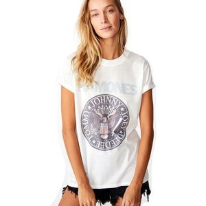 NWT Ramones Band Tee Classic Fit White